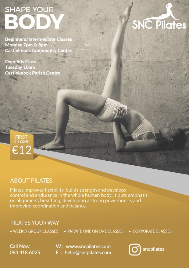 New Group Pilates Classes in Dublin 15 from January 2018